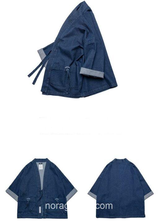 Blue Denim Streetwear Noragi 16