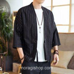Black Striped Noragi 1
