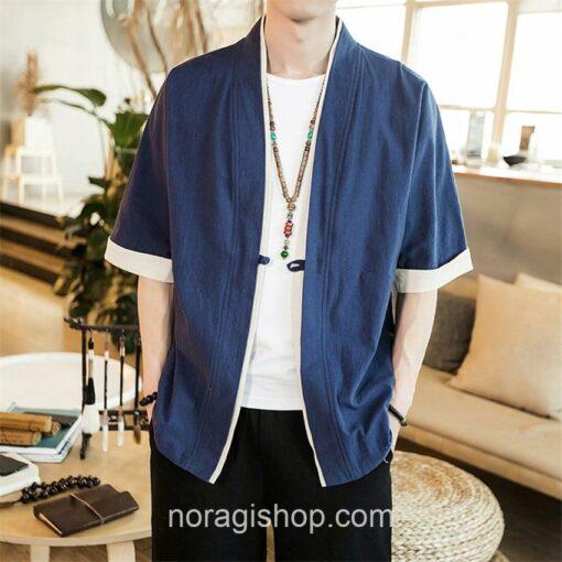 Blue Casual Style Noragi 1