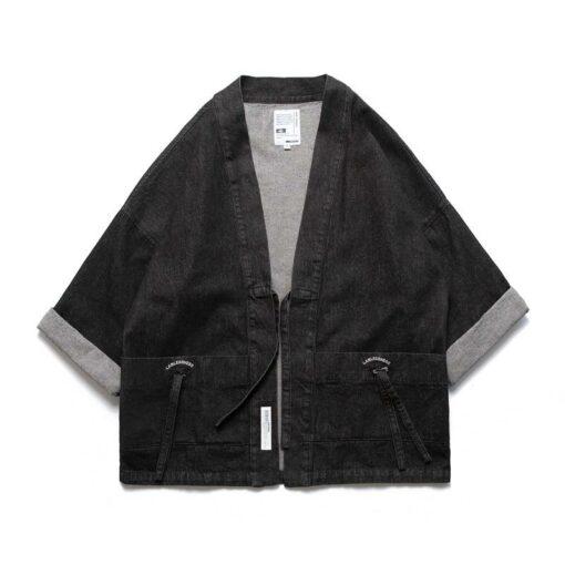 Black Denim Streetwear Noragi 2