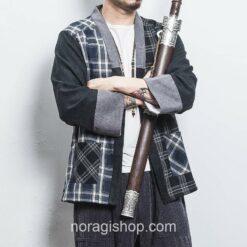 Plaid Samurai Street Noragi 5