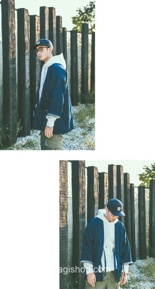 Blue Denim Streetwear Noragi 14