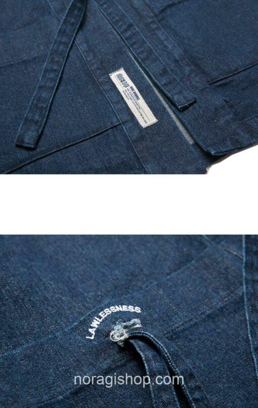 Blue Denim Streetwear Noragi 18