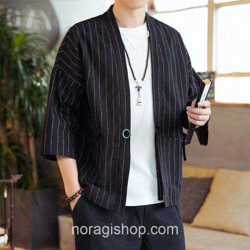Black Striped Noragi 7