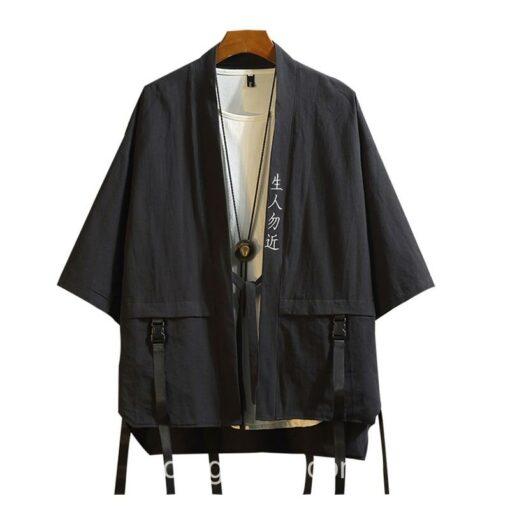 Black Ribbons Style Streetwear Noragi 7