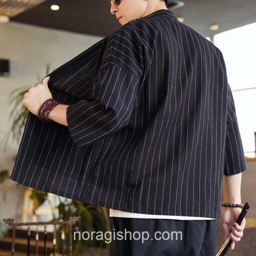 Black Striped Noragi 2
