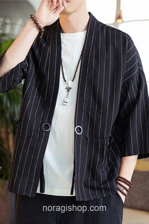 Black Striped Noragi 4