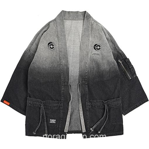 Gradient Vintage Streetwear Noragi 1