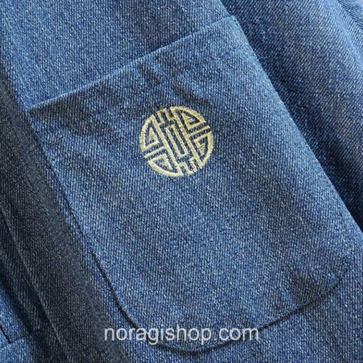 Blue Soft Denim Noragi 5