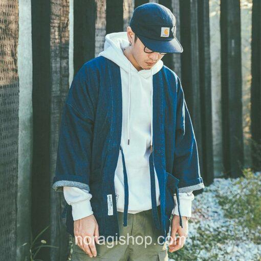 Blue Denim Streetwear Noragi 6