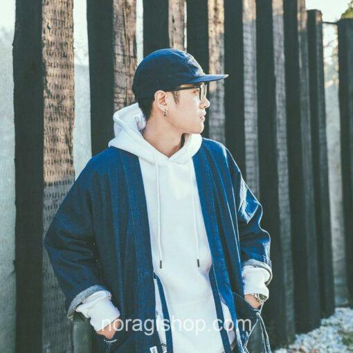 Blue Denim Streetwear Noragi 11