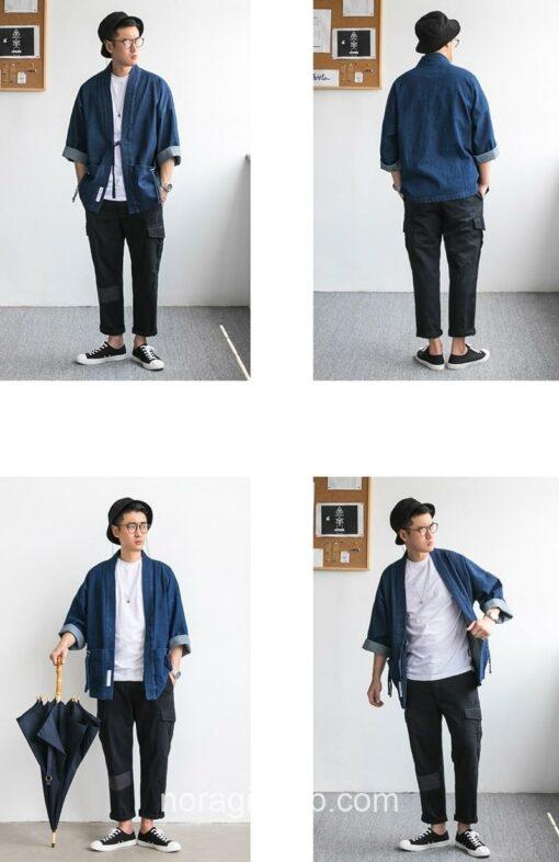 Blue Denim Streetwear Noragi 15