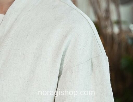 Beige Traditional Streetwear Noragi 4