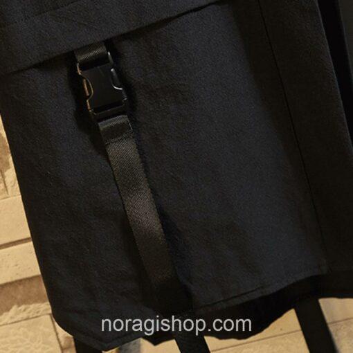 Black Ribbons Style Streetwear Noragi 3