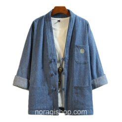 Blue Soft Denim Noragi 4