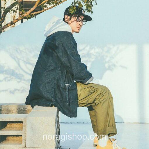 Blue Denim Streetwear Noragi 12