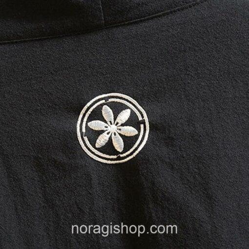 Black Ribbons Style Streetwear Noragi 4