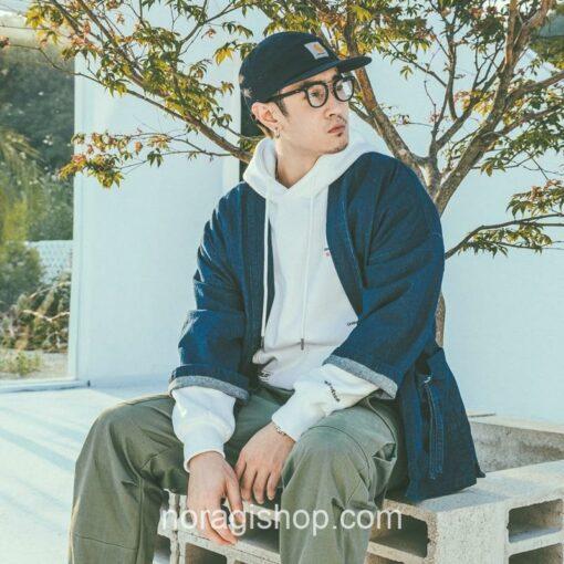 Blue Denim Streetwear Noragi 5